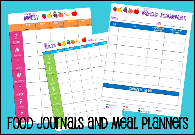Food Journals and Meal Planners